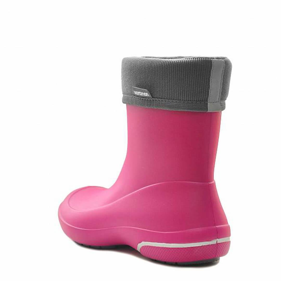 Женские сапоги из EVA Nordman Kleo розовые с флисовым утеплителем