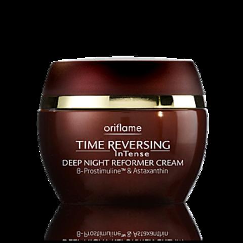 Регенерирующий ночной крем против увядания кожи «Власть над временем Интенс»