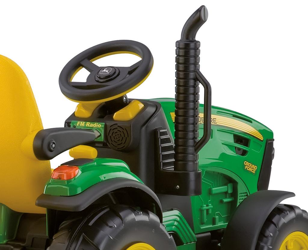 Тракторы PEG PEREGO для детей   Детская спецтехника Peg.