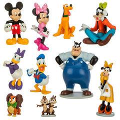 Набор из 10 фигурок Клуб Микки Мауса - Figure Play Set