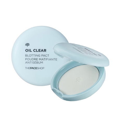 THE FACE SHOP Oil Clear Blotting Pact, 9 gr