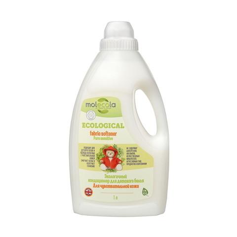 Экологичный кондиционер для детского белья Для чувствительной кожи 1 л (Molecola)