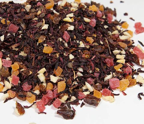 Фруктовый красный чай «Бодрящий Пунш» (каркадэ, 50 гр)