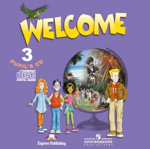 welcome 3 students's book cd