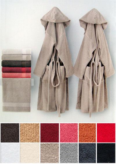 Полотенце 100х140 Carrara Mood красное