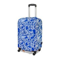 чехол для чемодана экстрапрочный «гжель»