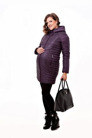 Куртка для беременных 05183 фиолетовый