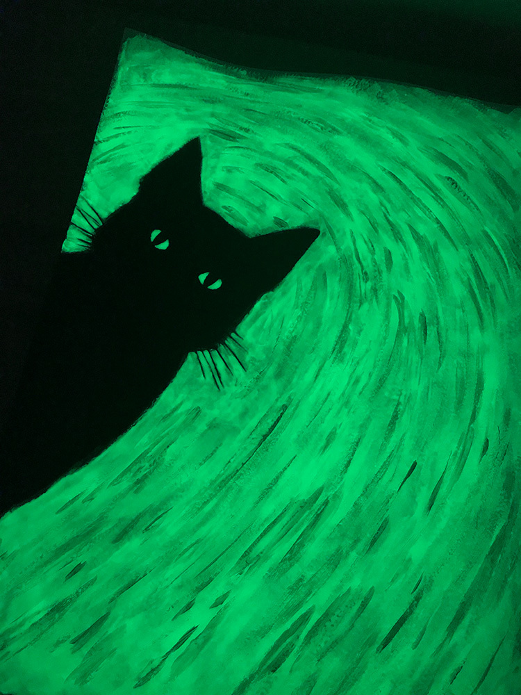 Hello Hooman (Glowing)