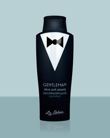 Liv delano Gentleman Гель для душа охлаждающий Cool effect 300г