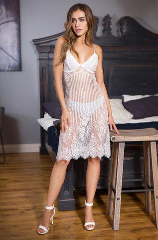 Сорочка женская  MIA-MIA Lolita Лолита 17465 белый
