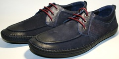 Мужские кожаные туфли Luciano Bellini 32011-00
