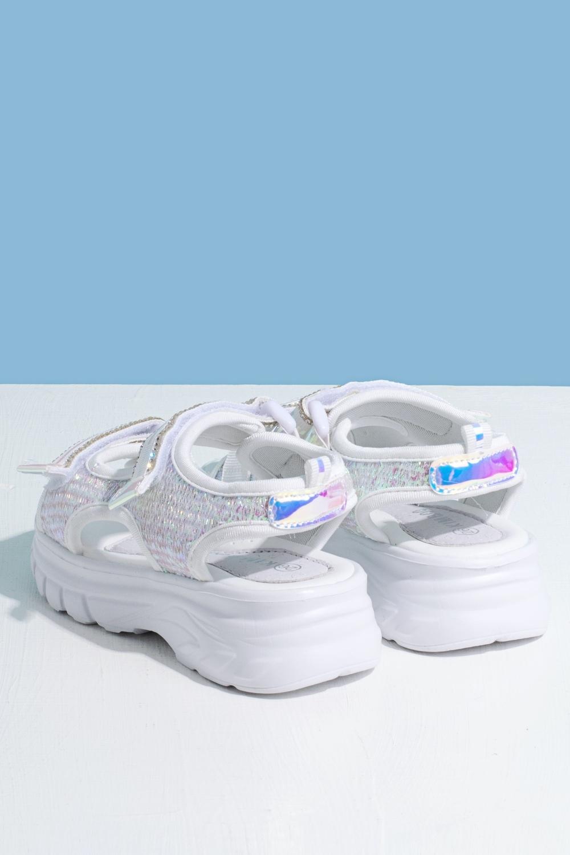 Босоножки белые для девочки 205-0045-1
