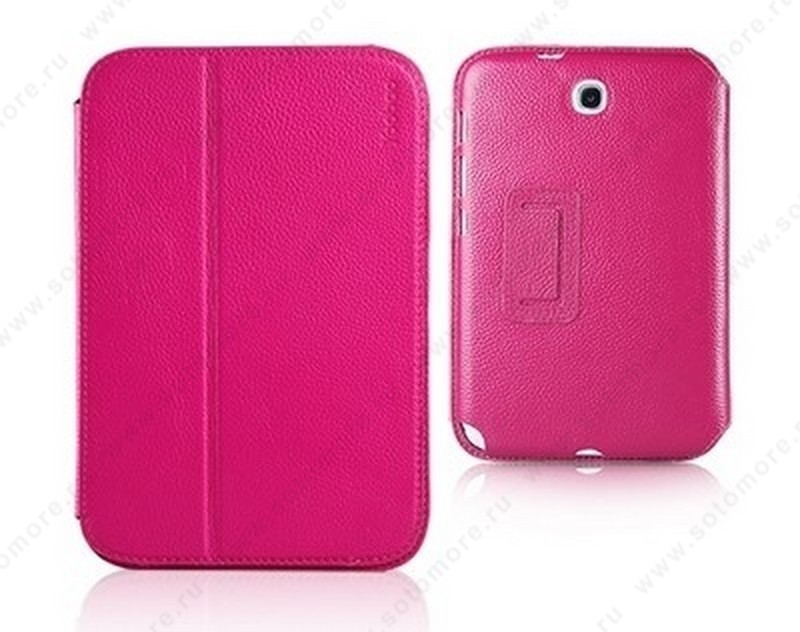 Чехол-книжка Yoobao для Samsung Galaxy Note 8.0 N5100/ N5110 - Yoobao Executive Leather Case Rose red