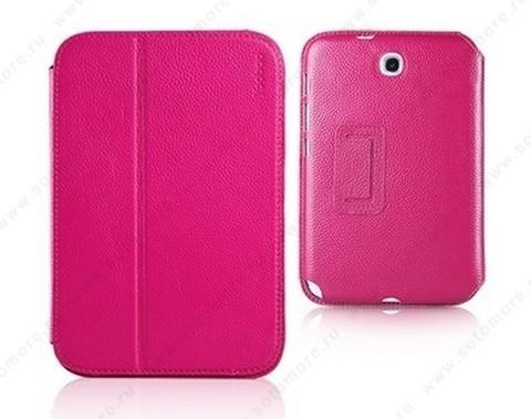 Чехол-книжка Yoobao для Samsung Galaxy Note 8.0 N5100/ N5110 - Yoobao Executive Leather Case Rose red