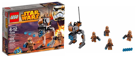 LEGO Star Wars: Пехотинцы планеты Джеонозис 75089