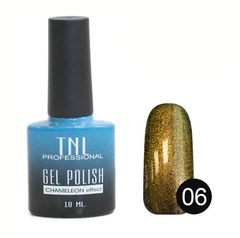 TNL, Гель-лак Chameleon effect № 06 - бронзовый Меркурий (10 мл)