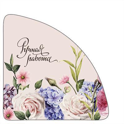 Уголок на коробку Сирень и розы