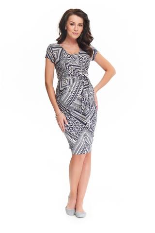 Платье для беременных и кормящих 05383 синий