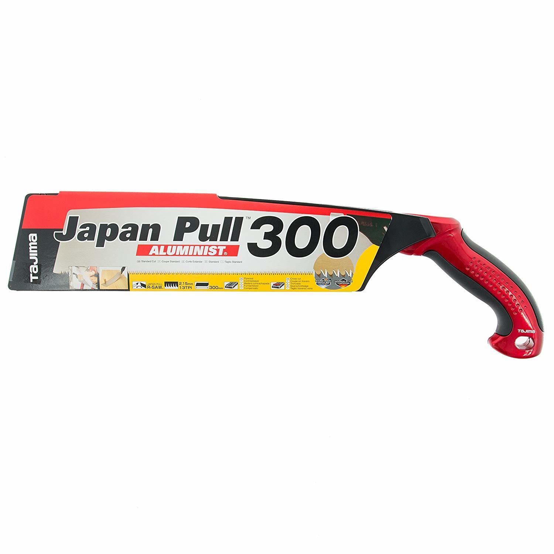 Ручная пила с изогнутой ручкой Japan Pull Aluminist Tajima JPR300A/R1