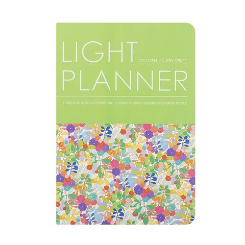 Планинг Light Planner Lime