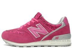 Кроссовки Женские New Balance 996 Pink Heart Print