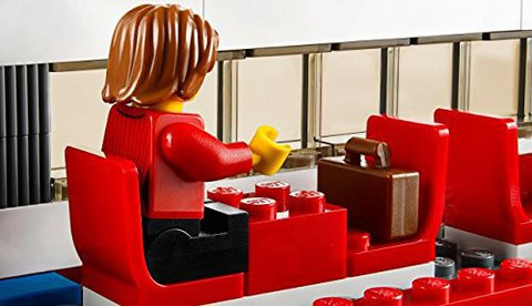 LEGO City: Скоростной пассажирский поезд 60051