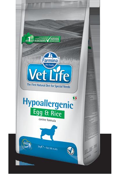 Сухой корм Корм для собак FARMINA Vet Life HIPO Egg & Rice при пищевой аллергии, яйцо и рис farmina-vet-life-canine-hypoallergenic-egg_web.png