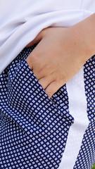 Бетти. Стильные брюки плюс сайз. Ромб.