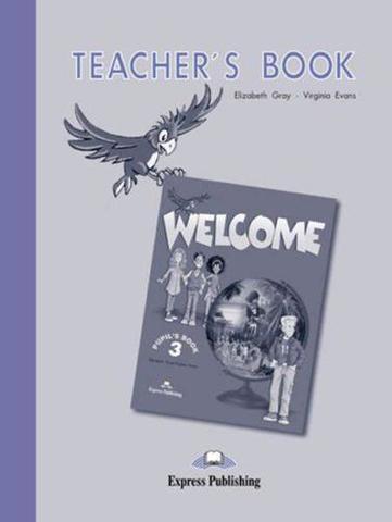 welcome 3 teacher's book - книга для учителя