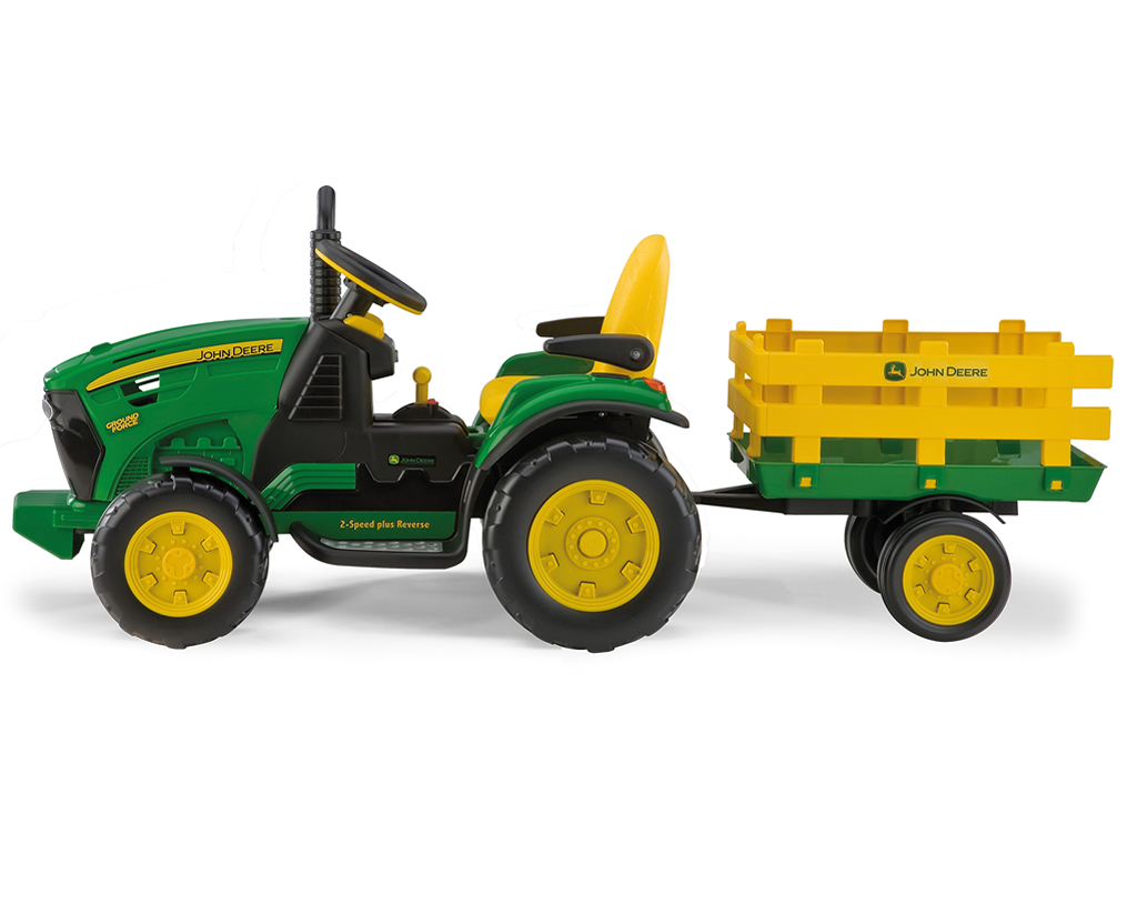 Детский трактор Peg Perego John Deere Ground Force.