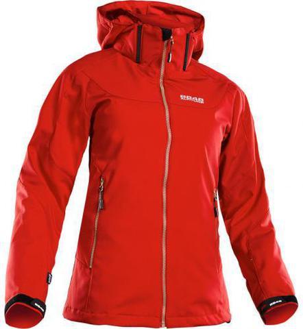 Горнолыжная куртка 8848 Altitude Lopez Softshell красная