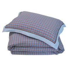 Постельное белье 2 спальное евро макси Casual Avenue Richmond бело-синее
