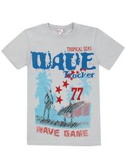 1180-7 футболка детская, серая