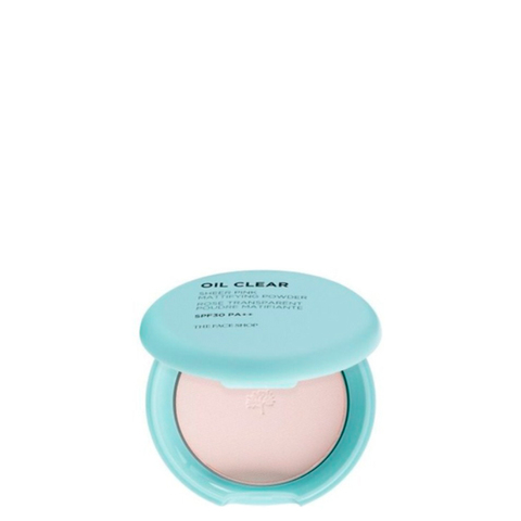 THE FACE SHOP Компактная матирующая пудра SPF30 PA++ Oil Clear Sheer Pink Mattifying Powder SPF30 PA++ (9г)