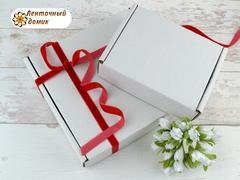 Коробка упаковочная белая