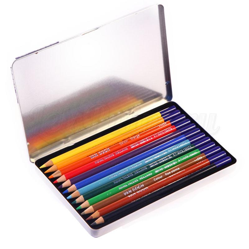 Набор из 12 цветных карандашей Van Gogh