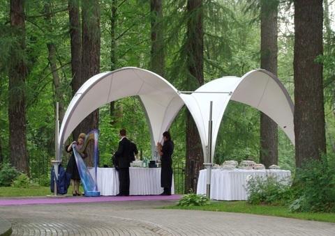 Арочный шатер 5х5