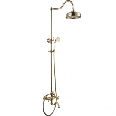 Душевая система KAISER Carlson Style 44482-1 /44282-1  бронза