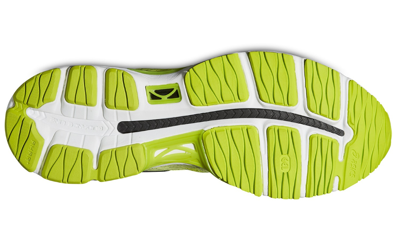 Мужские кроссовки для бега Asics Gel-Cumulus 17 Light-show (T51PQ 0404) желтые фото