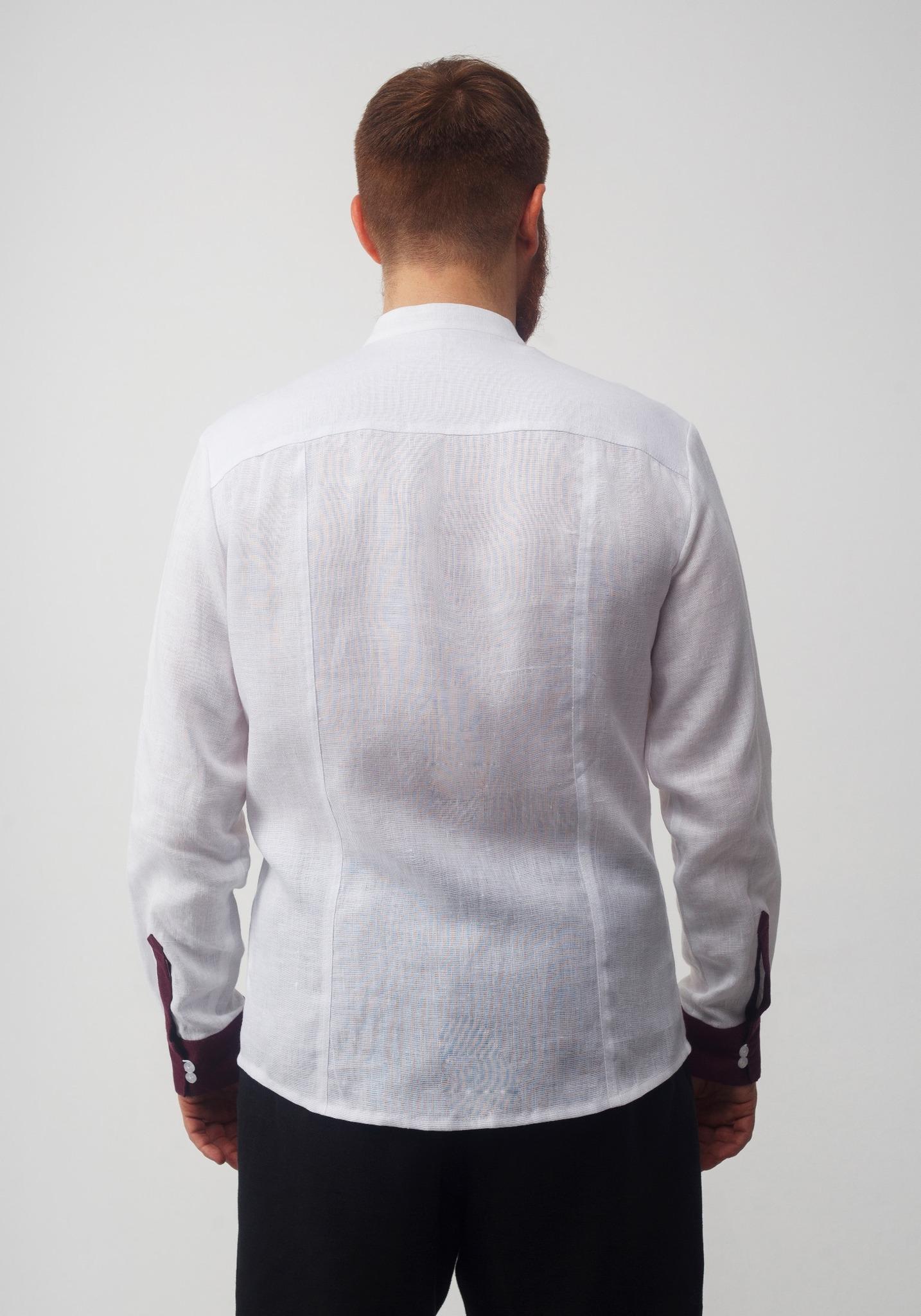 Рубашка мужская Южная вид сзади