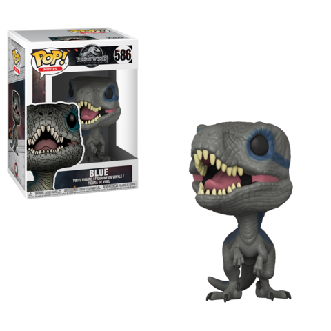 FUNKO POP! Vinyl: Jurassic World 2: Blue (New Pose) 30980