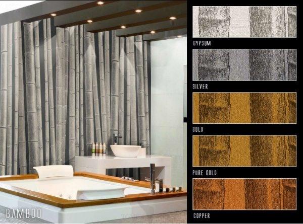 Панно Italreflexes Macro Bamboo 011 Gold, интернет магазин Волео