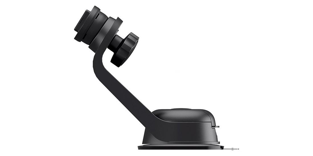 Автомобильный держатель присоска для смартфона SP Suction Mount вид сбоку