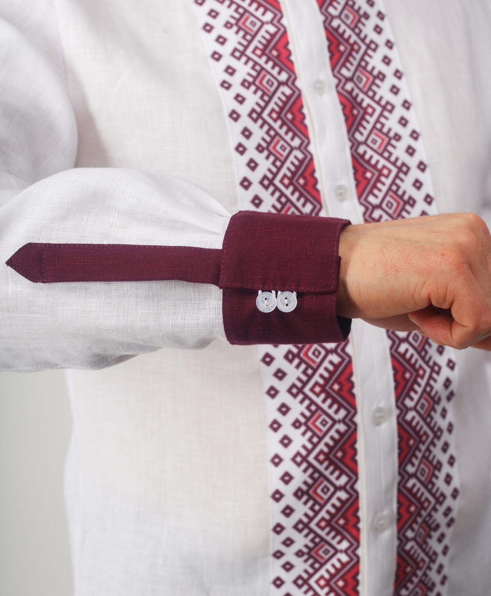 Рубашка мужская Южная манжеты