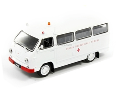 RAF-977IM Ambulance USSR 1:43 DeAgostini Service Vehicle #76