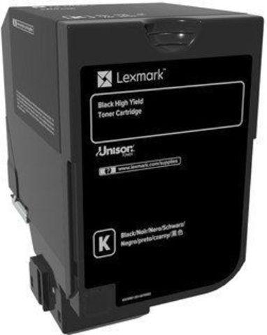 Тонер-картридж для принтеров Lexmark CS720, CS725 черный (black). Ресурс 20000 стр (74C5HK0)