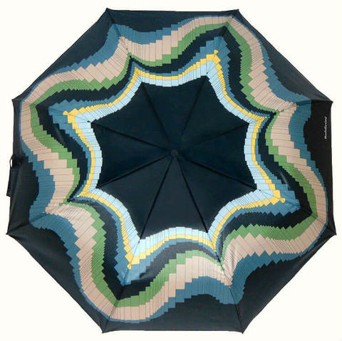 Купить онлайн Зонт складной Baldinini 48-4 Aurora boreale в магазине Зонтофф.