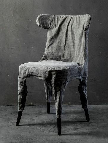 Стул Roomers Одер серый