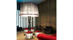 Italamp 8006 Big Light Grey — Напольный светильник VICTORIA