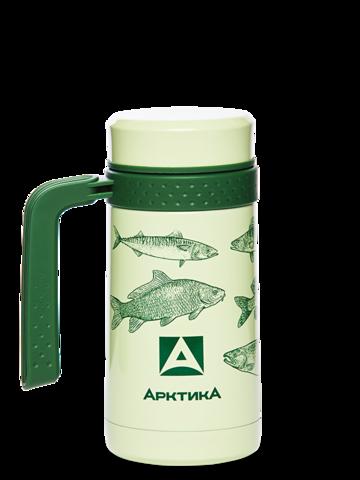 Термокружка автомобильная Арктика (0,5 литра), зеленая